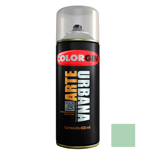 Tinta Spray Arte Urbana Fosco Verde Maresia 400ml Colorgin