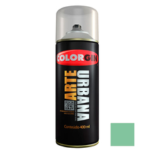 Tinta Spray Arte Urbana Fosco Verde Menta 400ml Colorgin