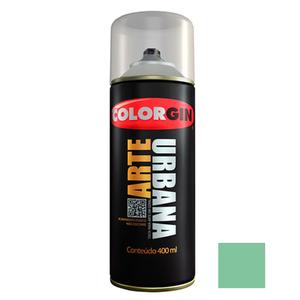 Tinta Spray Arte Urbana Fosco Verde Menta 400ml Colorgin