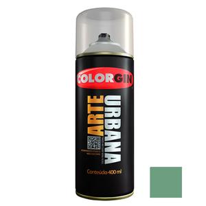 Tinta Spray Arte Urbana Fosco Verde Náutico 400ml Colorgin