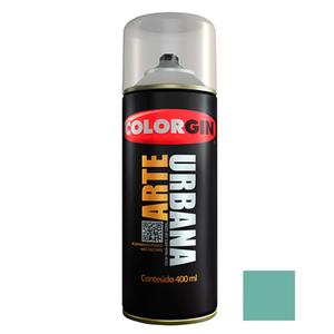 Tinta Spray Arte Urbana Fosco Verde Piscina 400ml Colorgin