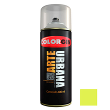 Tinta Spray Arte Urbana Fosco Verde Pistache 400ml Colorgin