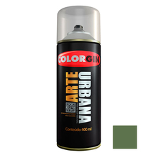 Tinta Spray Arte Urbana Fosco Verde Toscana 400ml Colorgin