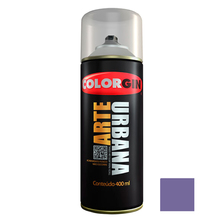 Tinta Spray Arte Urbana Fosco Violeta 400ml Colorgin