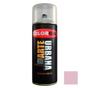 Tinta Spray Arte Urbana Fosco Violeta Claro 400ml Colorgin