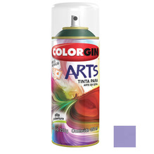 Tinta Spray Arts Colorgin Alto Brilho Lilás 350ml