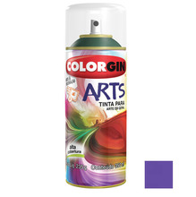 Tinta Spray Arts Colorgin Alto Brilho Violeta 350ml