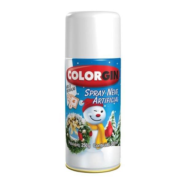 Tinta Spray Fosco Neve Artificial Branco Neve 350ml Colorgin