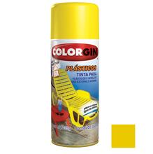 Tinta Spray Colorgin Plásticos Amarelo Sol 350ml