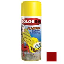 Tinta Spray Colorgin Plásticos Vermelho Malagueta 350ml