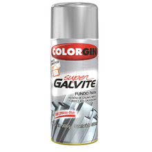 TINTA SPRAY COLORGIN SUPER GALVITE BRANCO GELO 350ML