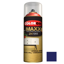 Tinta Spray Cover Maxx Azul Hiper 400ml Colorgin