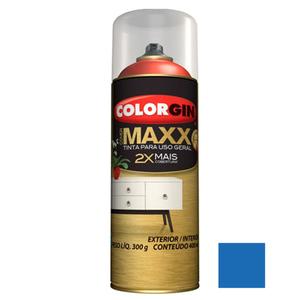 Tinta Spray Cover Maxx Azul Ultra 400ml Colorgin