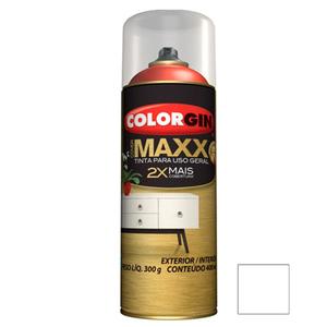 Tinta Spray Cover Maxx Branco Supremo 400ml Colorgin
