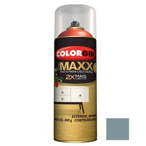 Tinta Spray Cover Maxx Cinza Extremo 400ml Colorgin