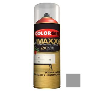 Tinta Spray Cover Maxx Cinza Intenso 400ml Colorgin