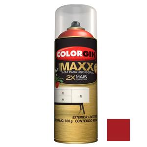Tinta Spray Cover Maxx Vermelho Mega 400ml Colorgin