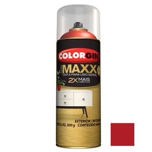 Tinta Spray Cover Maxx Vermelho Super 400ml Colorgin