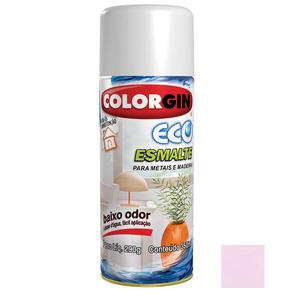 Tinta Spray Eco Esmalte Colorgin Acetinada Rosa Ganges 350ml