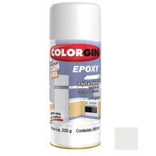 Tinta Spray Epóxy Colorgin Brilhante Branca 350ml