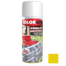 Tinta Spray Esmalte Sintético Colorgin Alto Brilho Amarelo 350ml