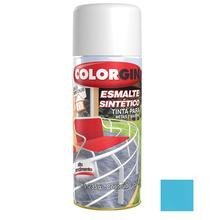 Tinta Spray Esmalte Sintético Colorgin Alto Brilho Azul Céu 350ml