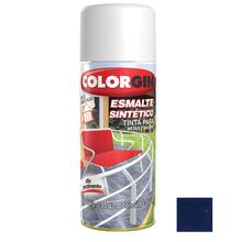 Tinta Spray Esmalte Sintético Colorgin Alto Brilho Azul Colonial 350ml