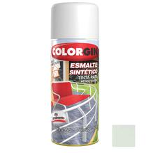 Tinta Spray Esmalte Sintético Colorgin Alto Brilho Branco 350ml