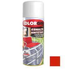 Tinta Spray Esmalte Sintético Colorgin Alto Brilho Laranja 350ml