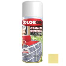 Tinta Spray Esmalte Sintético Colorgin Alto Brilho Marfim 350ml