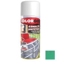 Tinta Spray Esmalte Sintético Colorgin Alto Brilho Verde Claro 350ml