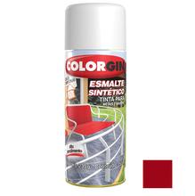 Tinta Spray Esmalte Sintético Colorgin Alto Brilho Vermelho 350ml