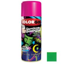 Tinta Spray Luminosa Colorgin Fosco Verde 350ml