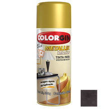 Tinta Spray Metallik Colorgin Bronze 350ml