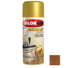 Tinta Spray Metallik Colorgin Cobre 350ml
