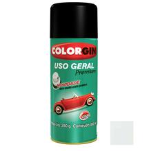 Tinta Spray Uso Geral Colorgin Brilho Branco Acabamento 400ml