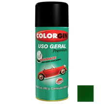 Tinta Spray Uso Geral Colorgin Brilho Verde 400ml