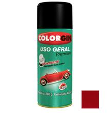 Tinta Spray Uso Geral Colorgin Brilho Vermelho 400ml