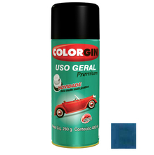 Tinta Spray Uso Geral Colorgin Metalico Azul Copacabana 400ml