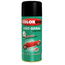 Tinta Spray Uso Geral Colorgin Metalico Turqueza Itapua 400 ml