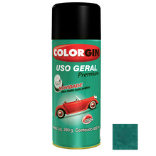 Tinta Spray Uso Geral Colorgin Metalico Verde Campos 400ml