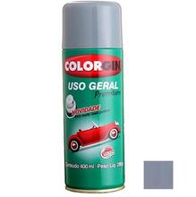 Tinta Spray Uso Geral Premium Primer Cinza Rápido Colorgin 400ml