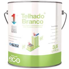 Tintas Impermeabilizantes para Telhado Branco Ecopintura Baixa Camada 3,6L Hydronorth
