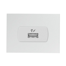 Tomada Carregador USB 5.1VDC 1A Miluz Schneider