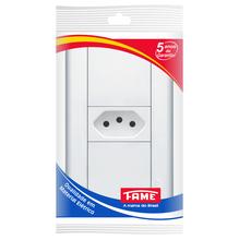 Tomada de Energia 10A 250V Branco Modulare Fame