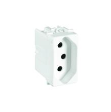 Tomada de Energia 10A 250V Branco S19 Simon
