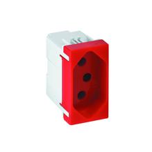 Tomada de Energia 20A 250V Vermelho S19 Simon