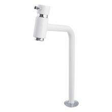 Torneira Convencional para Banheiro Mesa Bica Fixa Alta Branco Bello White 5195355 Romar