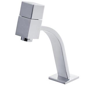 Torneira Convencional para Banheiro Mesa Bica Baixa Cromado Pretty Square SD9A343 Sensea