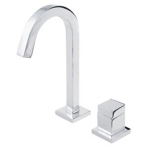 Torneira Convencional para Banheiro Mesa Bica Fixa Alta Cromado Cubo 1191C86 Deca